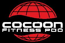 Cocoon Fitness Pod Logo WHITE